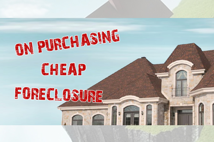 Purchasing cheap foreclosure in New Jersey